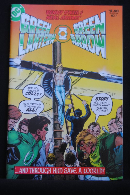 Green Lantern & Green Arrow, 7, 8.5, Neal Adams