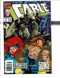 Lot Of 6 Cable Marvel Comic Books # 7 9 10 17 22 24 Wolverine X-Men Deadpool J90