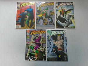 Robin Set: #1-5 8.0 VF (1991)
