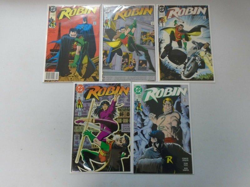 Robin Set: #1-5 8.0 VF (1991)