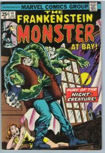 Frankenstein 14 Jan 1975 VF (8.0)
