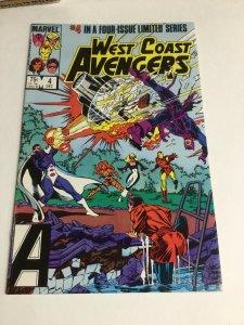 West Coast Avengers 4 Near Mint Nm Marvel