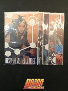 Supreme Blue Rose #1-5 Warren Ellis 1st Print Run Image Comics
