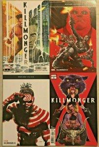 KILLMONGER#1-4 VF/NM LOT 2018 MARVEL COMICS