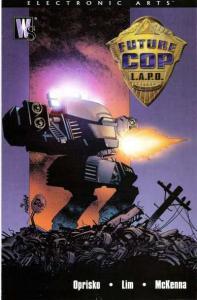 Future Cop L.A.P.D. #1, NM- (Stock photo)