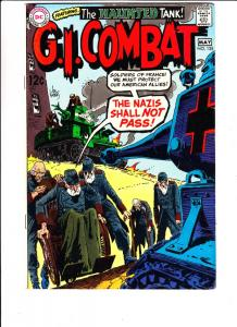 G.I. Combat #135 (May-69) FN/VF+ High-Grade The Haunted Tank
