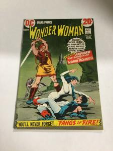 Wonder Woman 202 Fn/Vf Fine/Very Fine 7.0 First Fafhrd Gray Mouser DC Comics