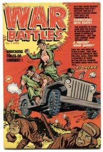 War Battles #2 1952- Korean War comic - Glossy VF
