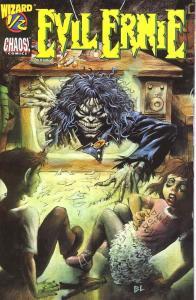 Evil Ernie (Chaos!) #1/2 (½ half) VF/NM; Chaos | save on shipping - details insi