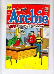 Archie #181 (Apr-68) VG/FN+ Mid-Grade Archie