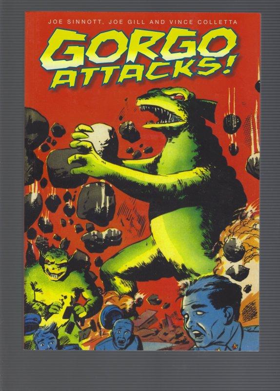 Gorgo Attacks Soft Cover SRP 29.99