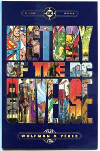 HISTORY of the DC UNIVERSE #2, NM-, 1986, George Perez, Batman, Superman, Hex