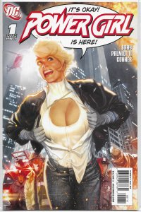 Power Girl   vol. 2   #  1 A FN