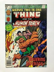 MARVEL Two in one THE THING and the HUMAN TORCH newsstand edition VG/F (A289)