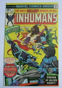 Inhumans #1 VF+ Key Issue 1st Print Marvel Bronze Age Comic Black Bolt Medusa