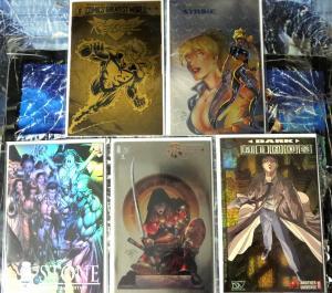 Holographic Foil Comic Book Lot - 5 comics set Magdalena Counter Strike Rebel et