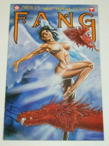 Fang #3 VF/NM; signed by Kevin J Taylor - Sirius - bad girl - vampire comic