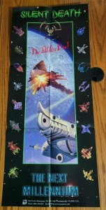 36 x 15 Fly Till You Die Silent Death Spaceship Promo Poster NO PIN HOLES NEW