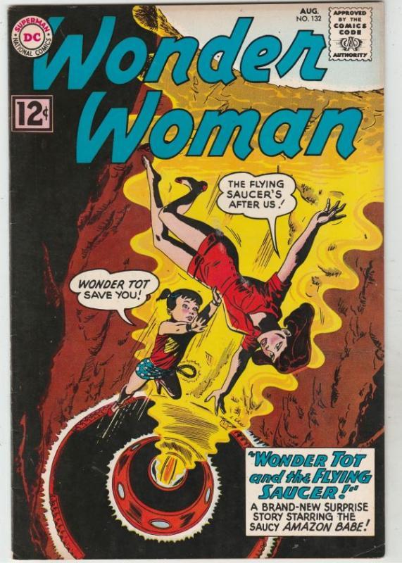 Wonder Woman #132 (Aug-62) VF/NM High-Grade Wonder Woman