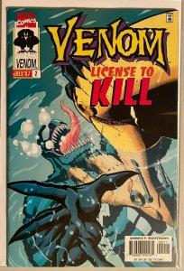 Venom license to kill #2 8.0 VF (1997)