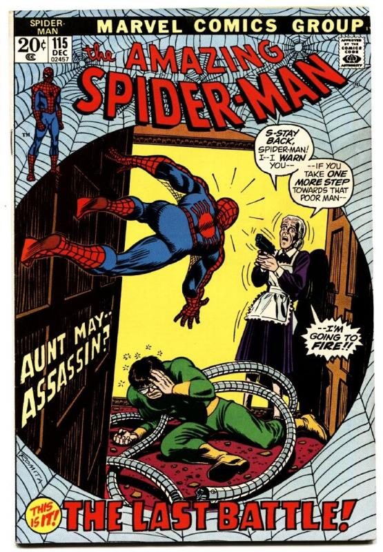 AMAZING SPIDER-MAN #115 comic book DOCTOR OCTOPUS MARVEL
