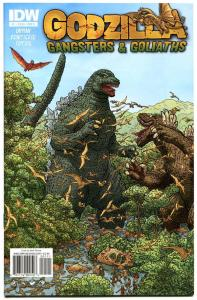 GODZILLA Gangsters and Goliaths #1, NM, Geof Darrow, 2011, more Horror in store