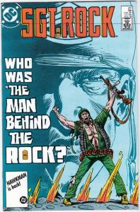 Sgt. Rock #411 (Aug-86) NM/MT Super-High-Grade Sgt. Rock, Easy Co.