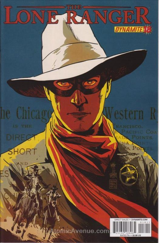 Lone Ranger, The (Dynamite, 2nd Series) #18 VF/NM Dynamite - save on shipping -