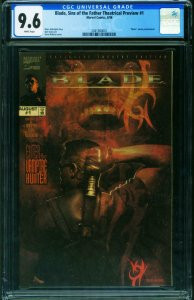 BLADE Sins of the Father Theatrical Preview #1 CGC 9.6 VERY RARE 2041560001