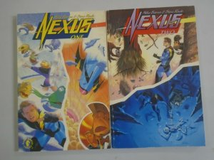 Nexus TPB set #1+2 SC 6.0 FN (1993 Dark Horse)