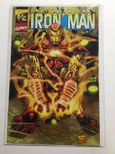 Iron Man 1/2 Near Mint- Nm- 9.2 Marvel