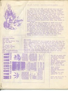 Far Out #1 4/1972-1st issue-Canadian fanzine-marijuana-movies-stories-VG