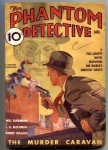 Phantom Detective Pulp January 1937- The Murder Caravan