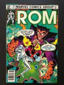 MARVEL ROM Spaceknight #19 Space Phantom FINE/VERY FINE (A41)