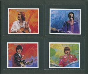 The Beatles Commemorative Stamp Sheet (SET)  1996
