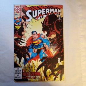 Action Comics 680 Very Fine- Cover by Art Thibert
