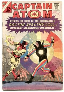 CAPTAIN ATOM V.2 #79 comic book DITKO COVER-1st DOCTOR SPECTRO vg-