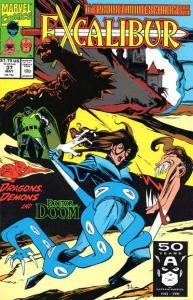 Excalibur (1988 series) #37, NM- (Stock photo)
