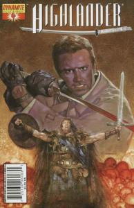 Highlander #4C VF/NM; Dynamite | save on shipping - details inside