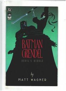 Batman/Grendel: Devil's Riddle #1 VF 8.0 DC/Comico 1993 Matt Wagner