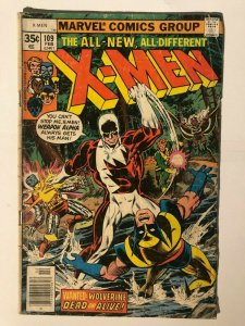 X-Men #109 - 1st App. of Weapon Alpha/Vindicator