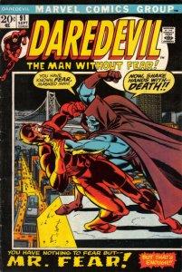Daredevil #91 (ungraded) stock photo ID# B-10
