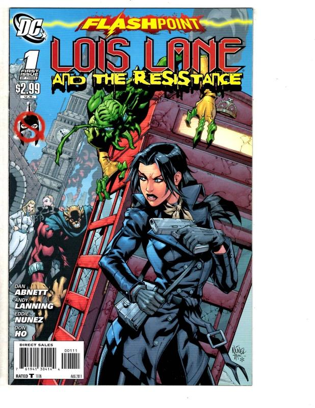 LOIS LANE AND THE RESISTANCE #1 OF 3 NM FLASHPOINT