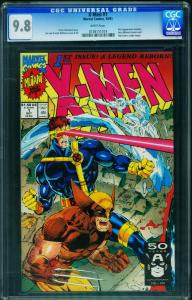 X-Men #1 1991  CGC Graded 9.8 White Pages- Wolverine cover 0138151018