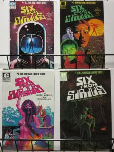 SIX FROM SIRIUS (1984)1-4 MOENCH AND GULACY IN SPACE!!!
