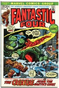 FANTASTIC FOUR #126, FN/VF, Origin retold, Buscema, 1961, more FF in store, QXT