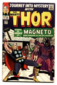 JOURNEY INTO MYSTERY #109 comic book-Thor Magneto Kirby Marvel vg