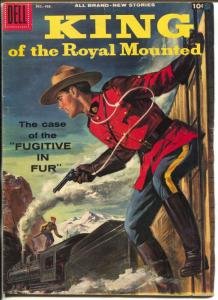 King of The Royal Mounted  #2 71958-Dell-Zane Grey-RCMP-VG/FN