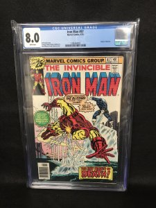 Iron Man #97 (Marvel, 1976) CGC 8.0
