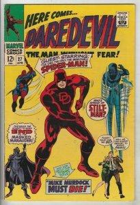 Daredevil # 27 Strict VF/NM High-Grade Crossover Spider-Man, The Stilt-Man